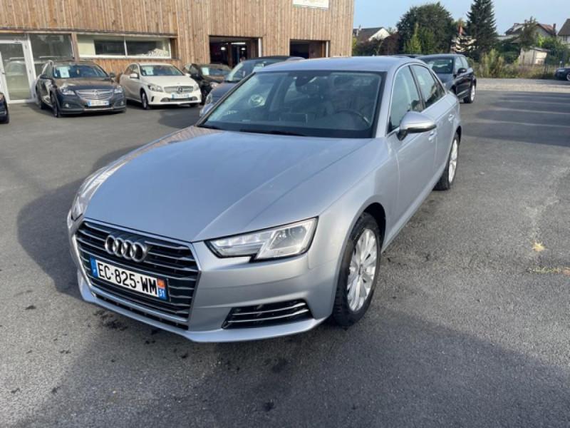 Audi A4 3.0 V6 TDI 218 S-TRONIC DESIGN GPS  Diesel GRIS Occasion à vendre