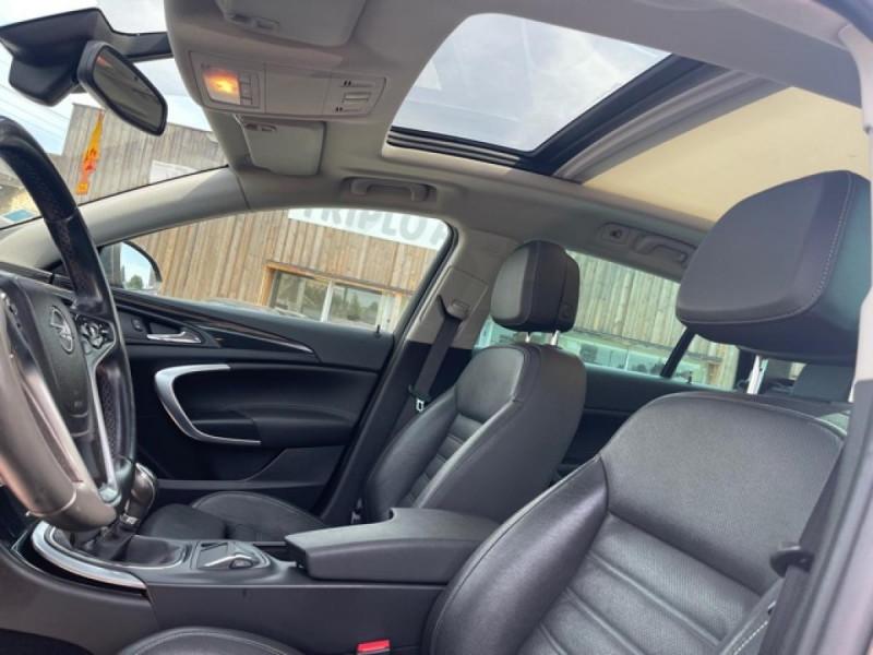 Photo 13 de l'offre de OPEL INSIGNIA 2.0 CDTI 163 S&S 4X4 COUNTRY TOURER GPS CAMERA TOIT OUVRANT à 10990€ chez Triplo auto