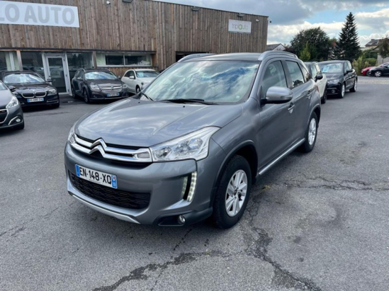 Citroen C4 AIRCROSS 4X4 1.6 HDI - 115 S&S  FEEL EDITION  Diesel GRIS Occasion à vendre