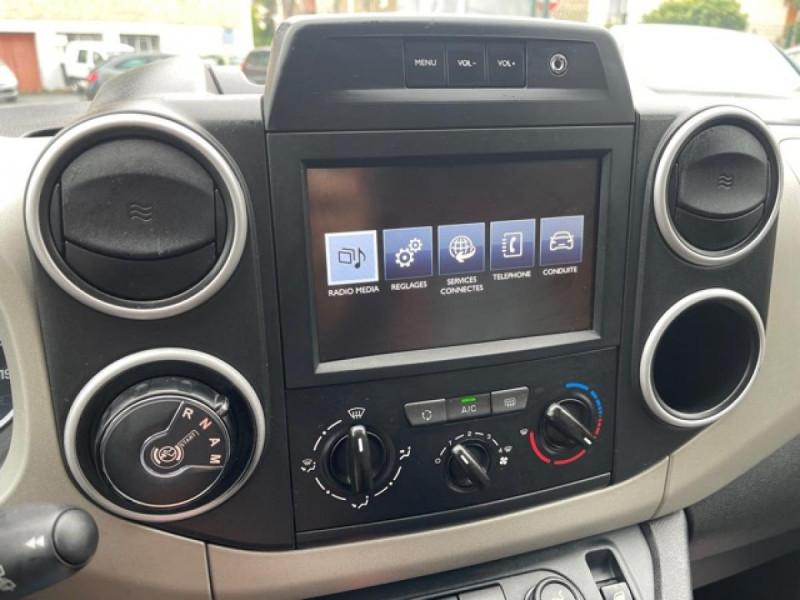 Photo 22 de l'offre de PEUGEOT PARTNER TEPEE 1.6 BLUEHDI S&S 100 ETG6 ACTIVE BOITE AUTO à 11990€ chez Triplo auto