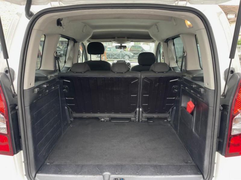 Photo 9 de l'offre de PEUGEOT PARTNER TEPEE 1.6 BLUEHDI S&S 100 ETG6 ACTIVE BOITE AUTO à 11990€ chez Triplo auto