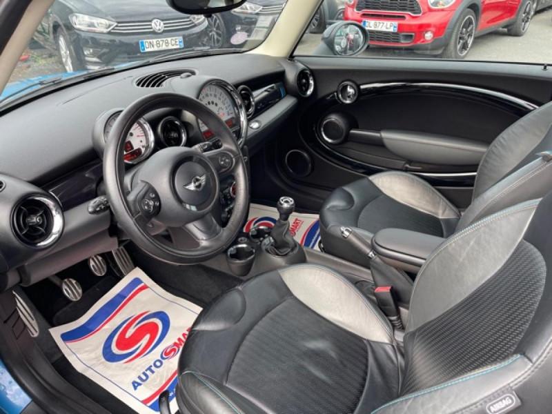 Photo 11 de l'offre de MINI MINI 1.6I - 184 R56 COOPER S BAYSWATER CUIR   CARNET ENTRETIEN A JOUR à 14990€ chez Triplo auto