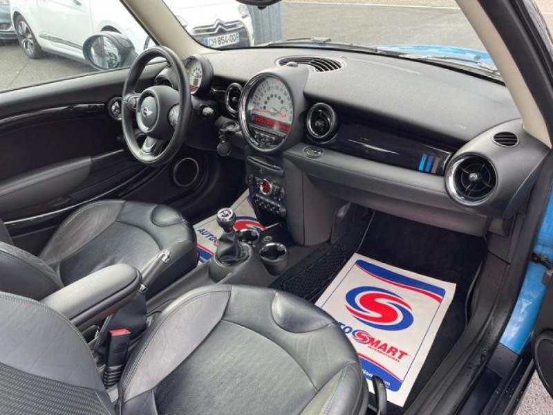 Photo 14 de l'offre de MINI MINI 1.6I - 184 R56 COOPER S BAYSWATER CUIR   CARNET ENTRETIEN A JOUR à 14990€ chez Triplo auto