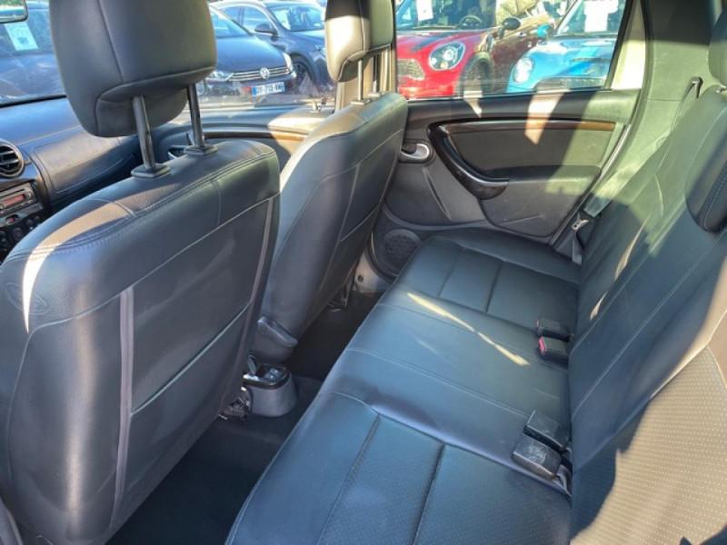 Photo 13 de l'offre de DACIA DUSTER 1.6 16V - 105 4X4 PRESTIGE CLIM CUIR à 8990€ chez Triplo auto