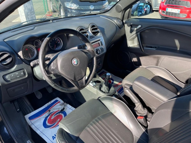 Photo 11 de l'offre de ALFA ROMEO MITO 1.4 TB MULTIAIR - 170 S/S  QUADRIFOGLIO VERDE CUIR DISTRI OK à 9990€ chez Triplo auto