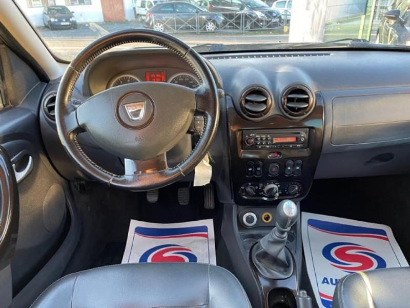 Photo 15 de l'offre de DACIA DUSTER 1.6 16V - 105 4X4 PRESTIGE CLIM CUIR à 8990€ chez Triplo auto