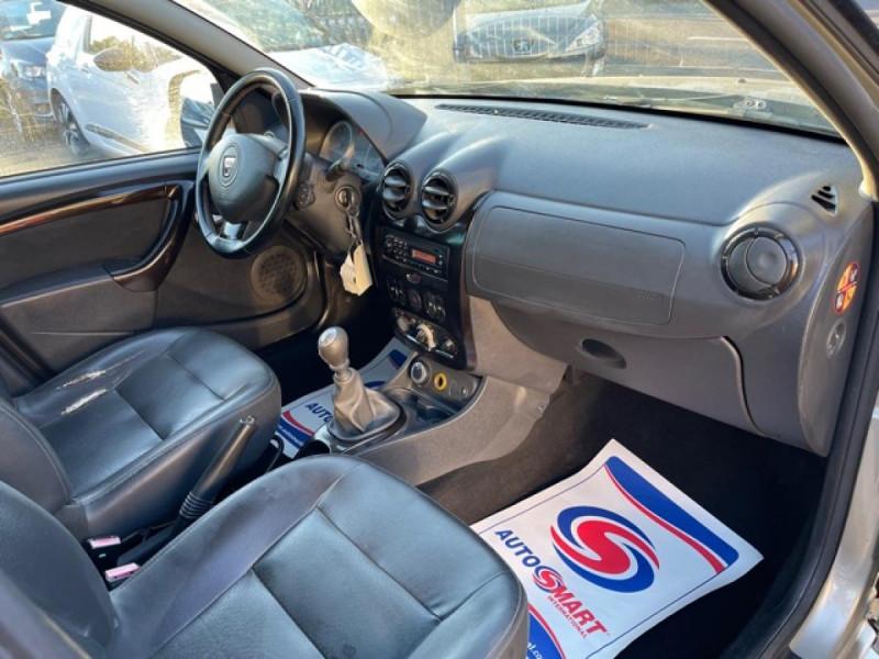 Photo 14 de l'offre de DACIA DUSTER 1.6 16V - 105 4X4 PRESTIGE CLIM CUIR à 8990€ chez Triplo auto