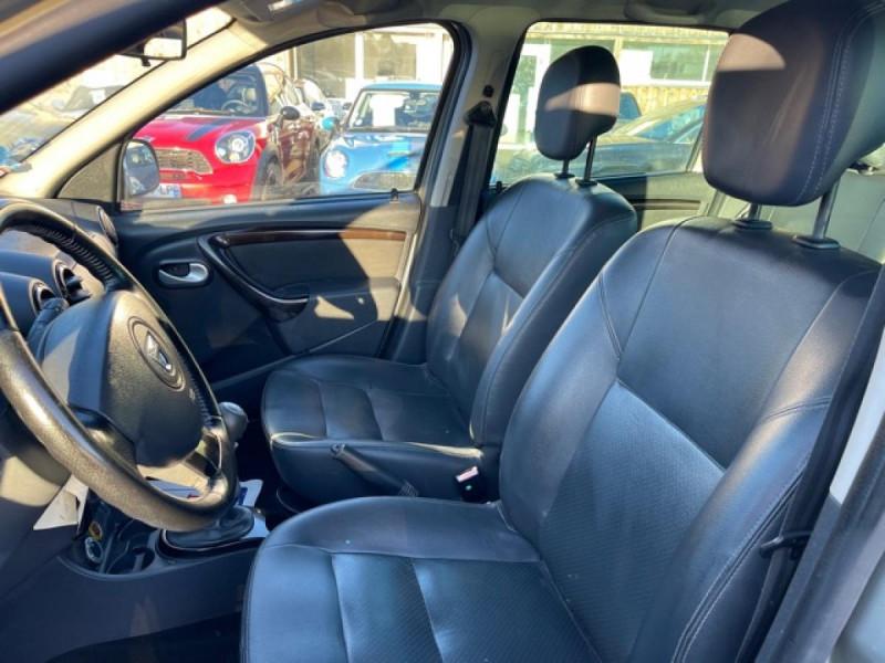 Photo 12 de l'offre de DACIA DUSTER 1.6 16V - 105 4X4 PRESTIGE CLIM CUIR à 8990€ chez Triplo auto
