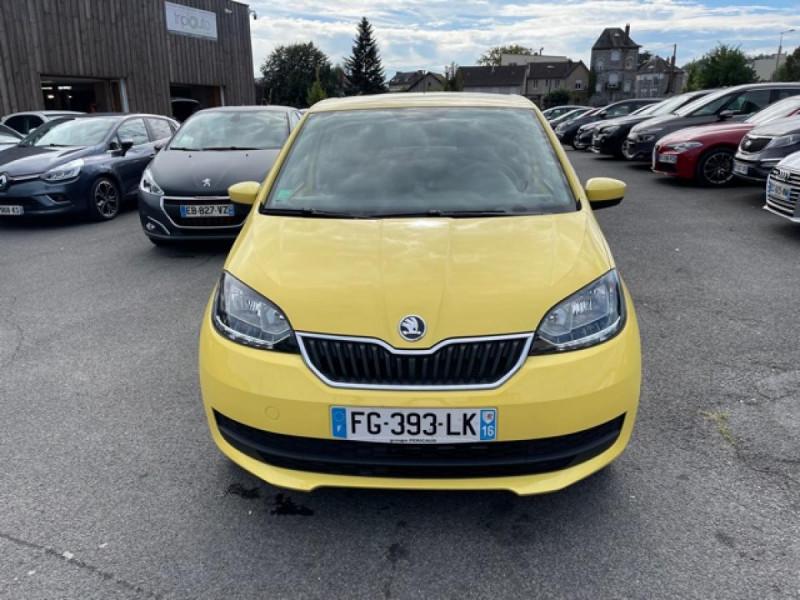 Photo 8 de l'offre de SKODA CITIGO 1.0 12V MPI - 60 EDITION CLIM à 8990€ chez Triplo auto