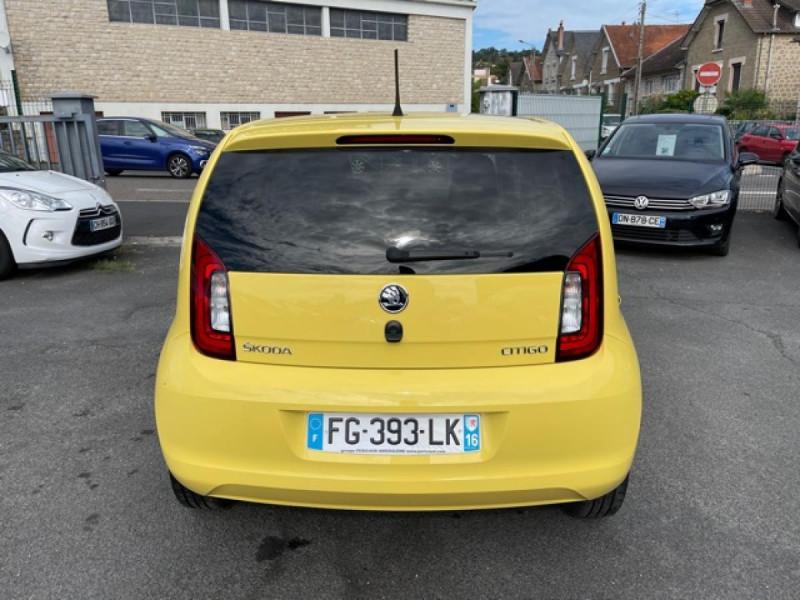 Photo 4 de l'offre de SKODA CITIGO 1.0 12V MPI - 60 EDITION CLIM à 8990€ chez Triplo auto