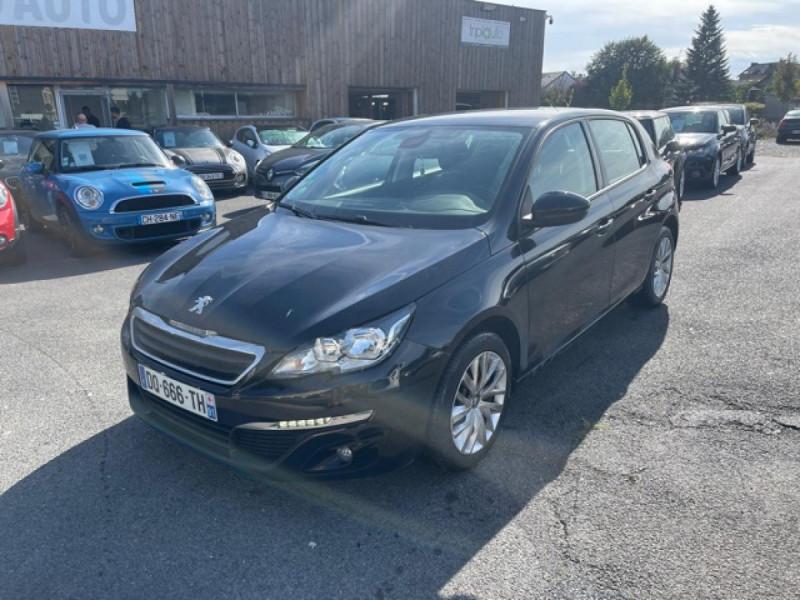 Peugeot 308 1.6 HDI 92 AFFAIRE PACK CD CLIM GPS CONFORT  Diesel NOIR Occasion à vendre