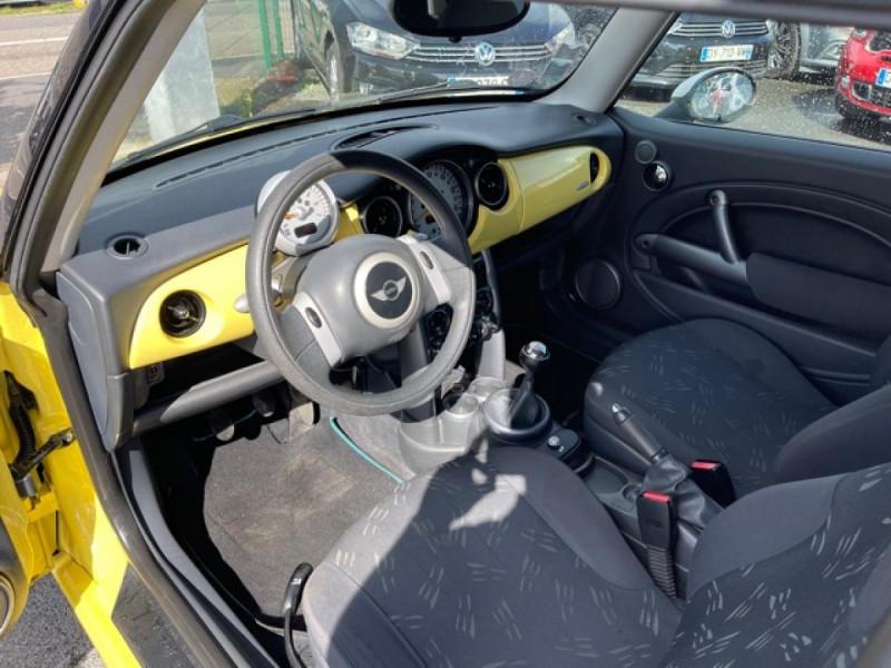 Photo 11 de l'offre de MINI MINI 1.4 D - 75  R50 - R53 COUPE ONE  à 6490€ chez Triplo auto