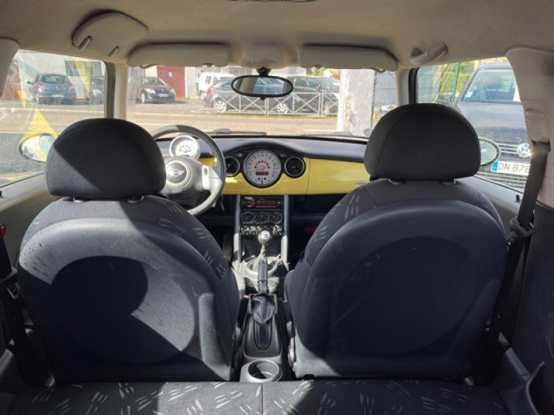 Photo 10 de l'offre de MINI MINI 1.4 D - 75  R50 - R53 COUPE ONE  à 6490€ chez Triplo auto