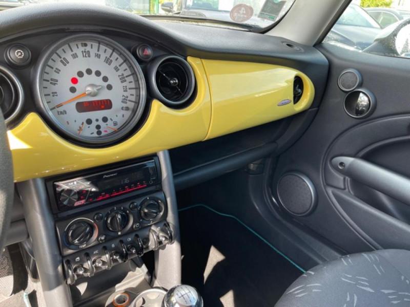 Photo 18 de l'offre de MINI MINI 1.4 D - 75  R50 - R53 COUPE ONE  à 6490€ chez Triplo auto