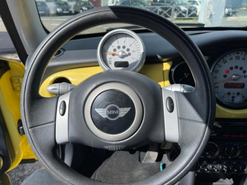 Photo 17 de l'offre de MINI MINI 1.4 D - 75  R50 - R53 COUPE ONE  à 6490€ chez Triplo auto