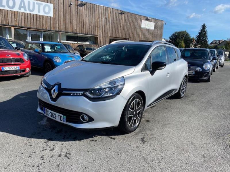 Renault CLIO ESTATE 1.5 DCI 90 INTENS GPS   ATTELAGE Diesel GRIS Occasion à vendre