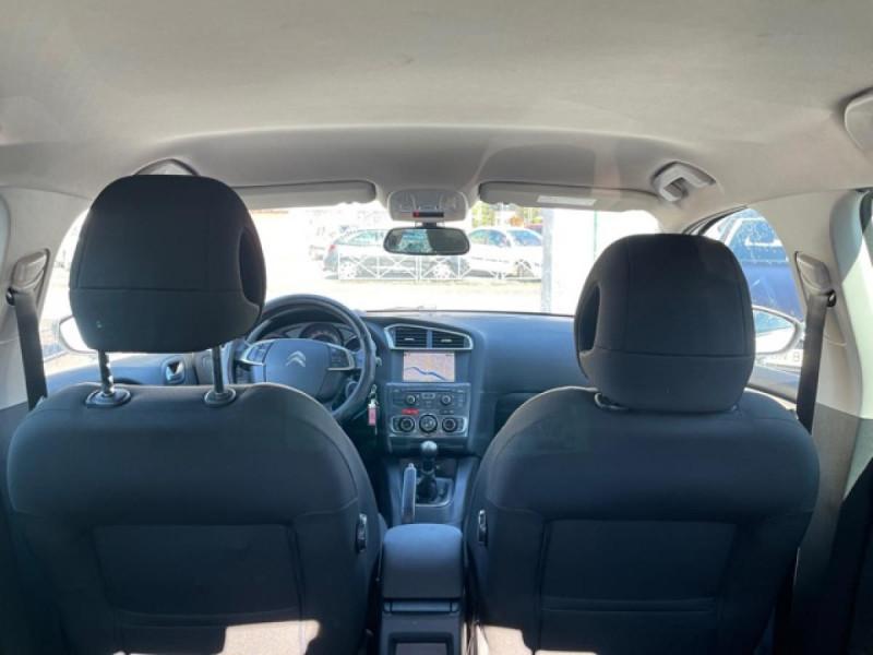 Photo 10 de l'offre de CITROEN C4 1.6 HDI 90 MILLENIUM GPS RADAR AR à 8490€ chez Triplo auto
