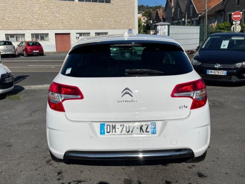 Photo 4 de l'offre de CITROEN C4 1.6 HDI 90 MILLENIUM GPS RADAR AR à 8490€ chez Triplo auto