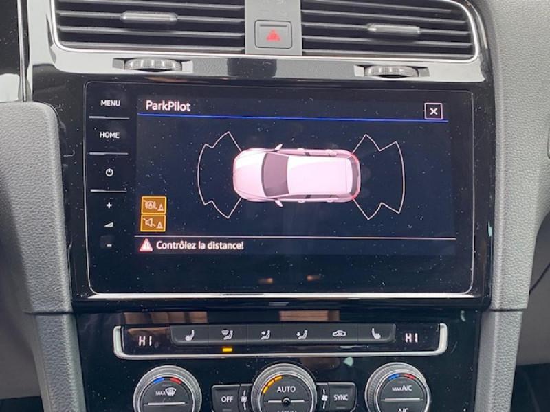 Photo 18 de l'offre de VOLKSWAGEN GOLF VII 1.6 TDI 115 DSG 7  CONFORTLINE BUSINESS GPS à 18490€ chez Triplo auto
