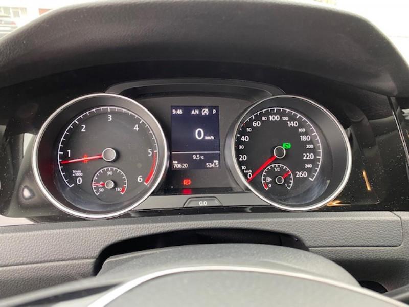 Photo 28 de l'offre de VOLKSWAGEN GOLF VII 1.6 TDI 115 DSG 7  CONFORTLINE BUSINESS GPS à 18490€ chez Triplo auto