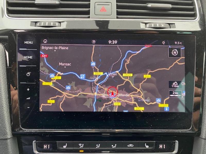 Photo 16 de l'offre de VOLKSWAGEN GOLF VII 1.6 TDI 115 DSG 7  CONFORTLINE BUSINESS GPS à 18490€ chez Triplo auto