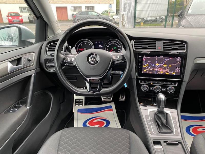 Photo 14 de l'offre de VOLKSWAGEN GOLF VII 1.6 TDI 115 DSG 7  CONFORTLINE BUSINESS GPS à 18490€ chez Triplo auto