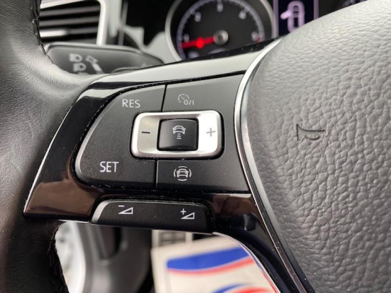 Photo 27 de l'offre de VOLKSWAGEN GOLF VII 1.6 TDI 115 DSG 7  CONFORTLINE BUSINESS GPS à 18490€ chez Triplo auto