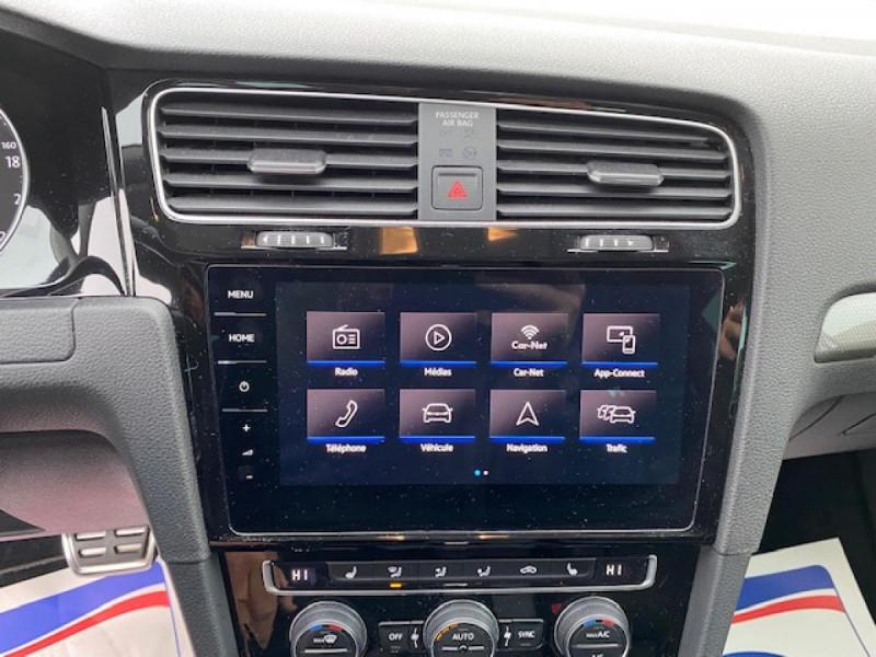 Photo 19 de l'offre de VOLKSWAGEN GOLF VII 1.6 TDI 115 DSG 7  CONFORTLINE BUSINESS GPS à 18490€ chez Triplo auto