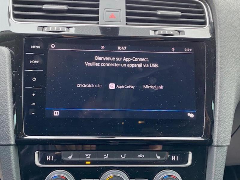 Photo 20 de l'offre de VOLKSWAGEN GOLF VII 1.6 TDI 115 DSG 7  CONFORTLINE BUSINESS GPS à 18490€ chez Triplo auto