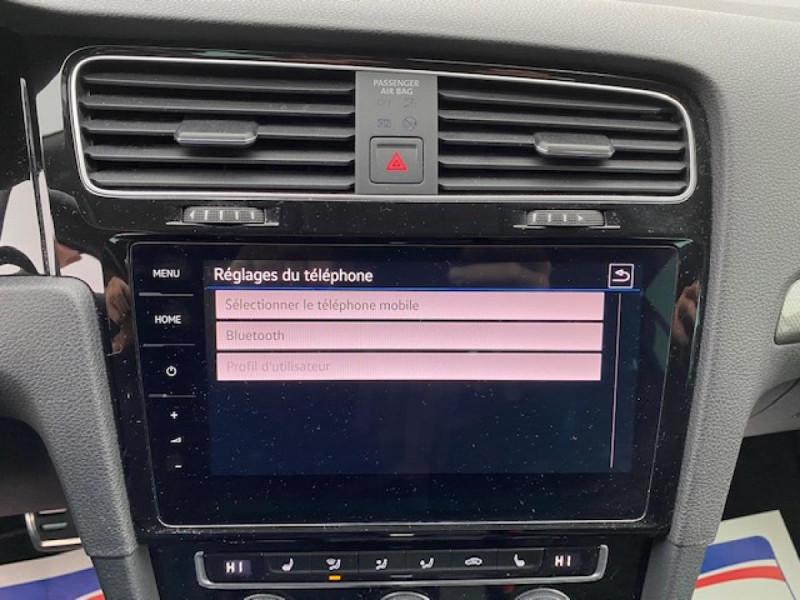 Photo 17 de l'offre de VOLKSWAGEN GOLF VII 1.6 TDI 115 DSG 7  CONFORTLINE BUSINESS GPS à 18490€ chez Triplo auto