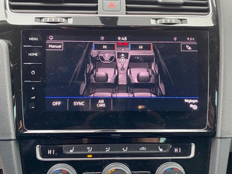 Photo 25 de l'offre de VOLKSWAGEN GOLF VII 1.6 TDI 115 DSG 7  CONFORTLINE BUSINESS GPS à 18490€ chez Triplo auto