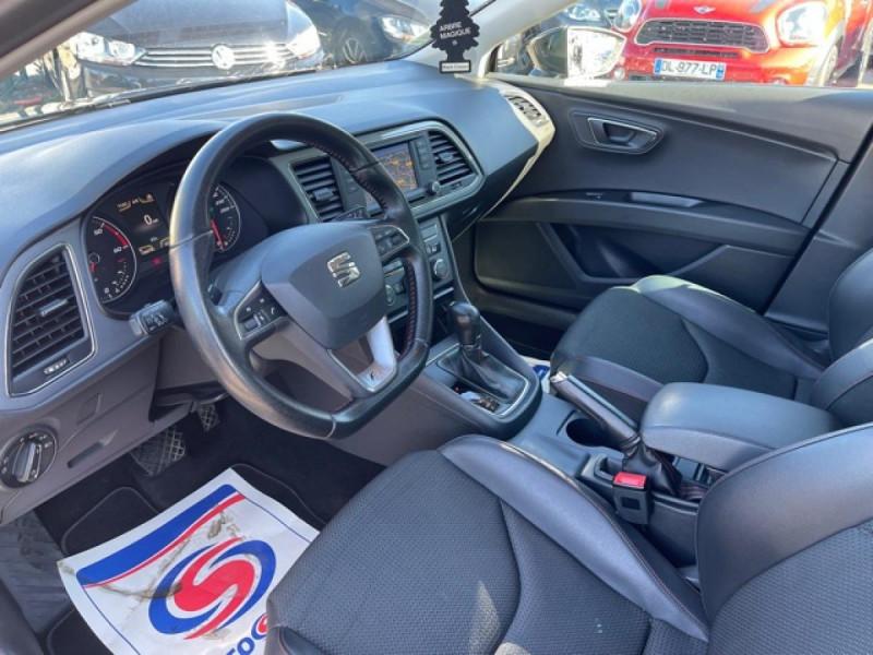 Photo 11 de l'offre de SEAT LEON 2.0 TDI 150 S/S DSG6 FR  à 11990€ chez Triplo auto
