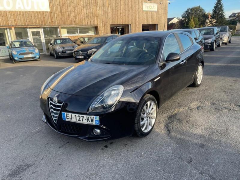 Alfa Romeo GIULIETTA 1.6 JTDM - 105 S/S DISTINCTIVE  Diesel NOIR Occasion à vendre