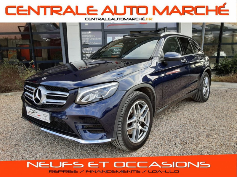Mercedes-Benz CLASSE GLC 250 d 9G-Tronic 4Matic Fascination Diesel  Occasion à vendre