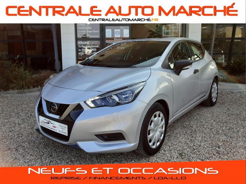 Photo 1 de l'offre de NISSAN MICRA 1.0 - 71 Visia Pack à 10490€ chez Centrale Auto Marché Mussidan