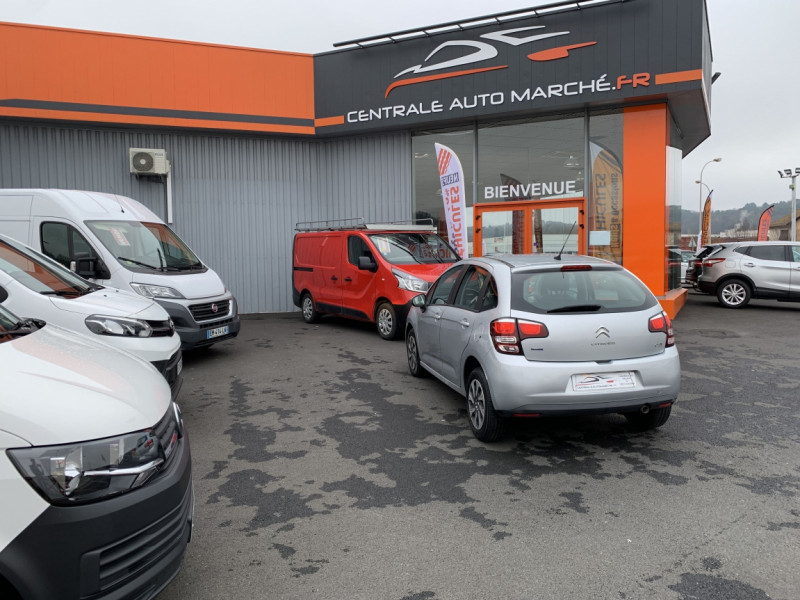 Photo 41 de l'offre de CITROEN C3 SOCIETE BLUEHDI 100 SetS CONFORT à 6990€ chez Centrale Auto Marché Mussidan