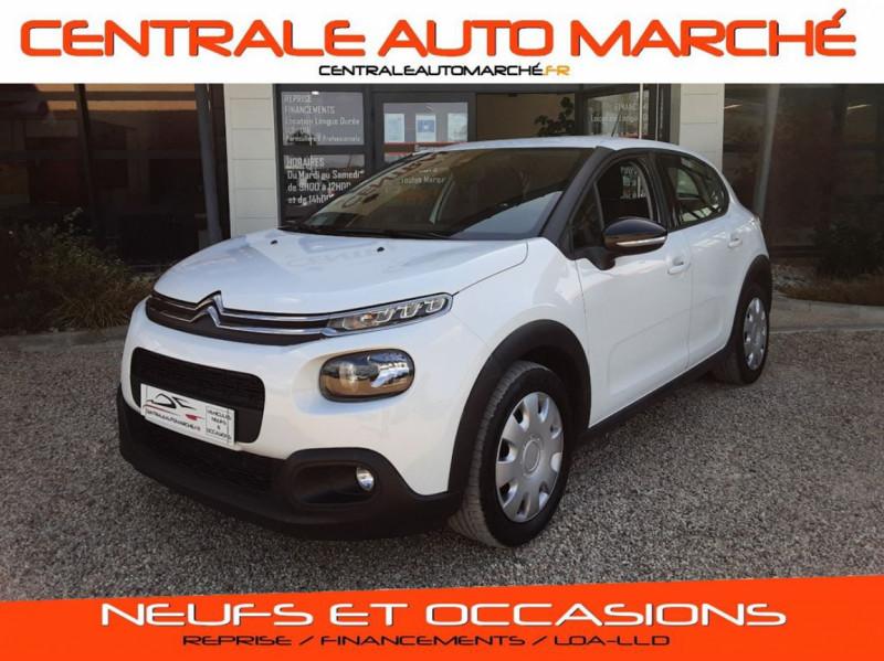 Photo 1 de l'offre de CITROEN C3 SOCIETE BLUEHDI 100 SetS FEEL NAV à 8890€ chez Centrale Auto Marché Mussidan