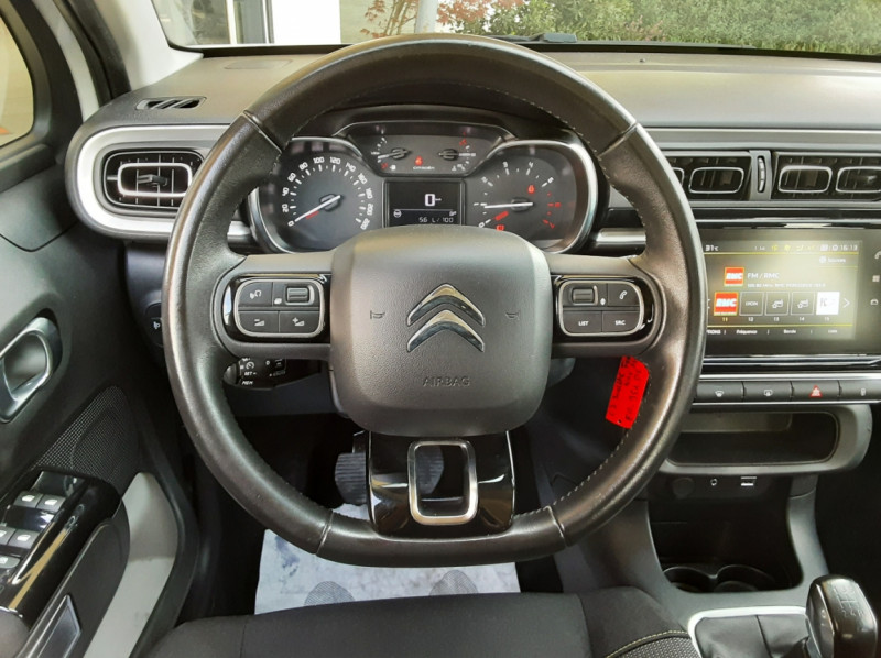 Photo 35 de l'offre de CITROEN C3 SOCIETE BLUEHDI 100 SetS FEEL NAV à 8890€ chez Centrale Auto Marché Mussidan