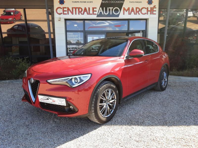 Photo 2 de l'offre de ALFA ROMEO STELVIO 2.2 210 ch Q4 AT8 Lusso à 28900€ chez Centrale Auto Marché Mussidan