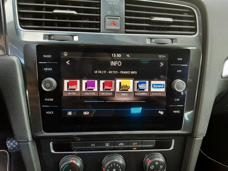Photo 41 de l'offre de VOLKSWAGEN GOLF VII 1.6 TDI 115 BlueMotion Trendline à 13490€ chez Centrale Auto Marché Mussidan