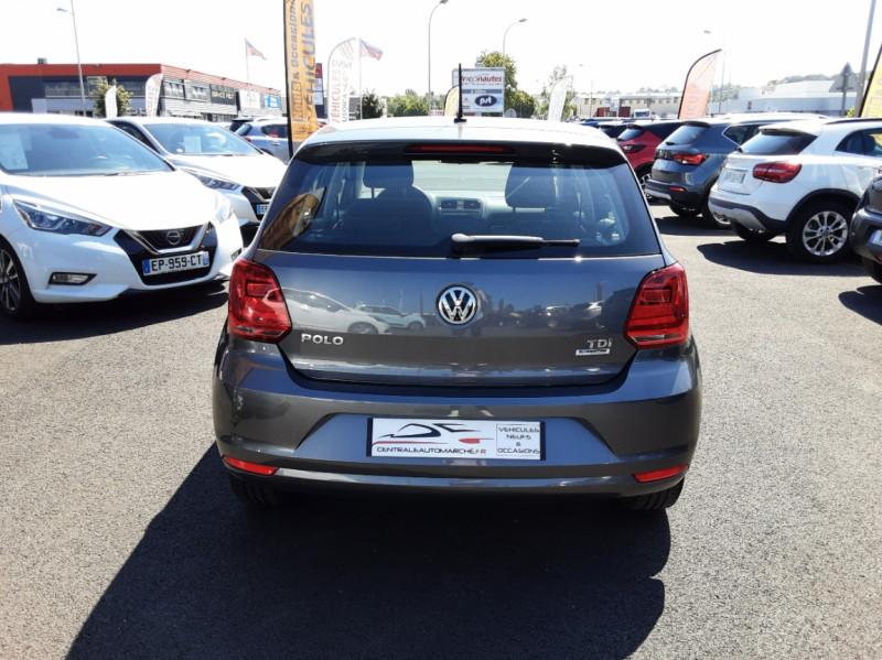 Photo 5 de l'offre de VOLKSWAGEN POLO 1.4 TDI 75 BMT Confortline à 10900€ chez Centrale Auto Marché Mussidan