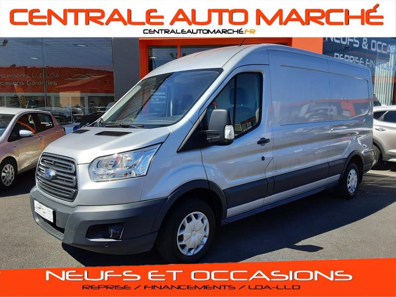 Photo 1 de l'offre de FORD TRANSIT FOURGON L3H2 2.0 TDCI 105CH TREND BUSINESS à 18500€ chez Centrale Auto Marché Mussidan