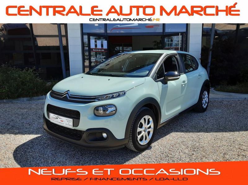 Photo 1 de l'offre de CITROEN C3 PureTech 82 Feel à 10990€ chez Centrale Auto Marché Mussidan