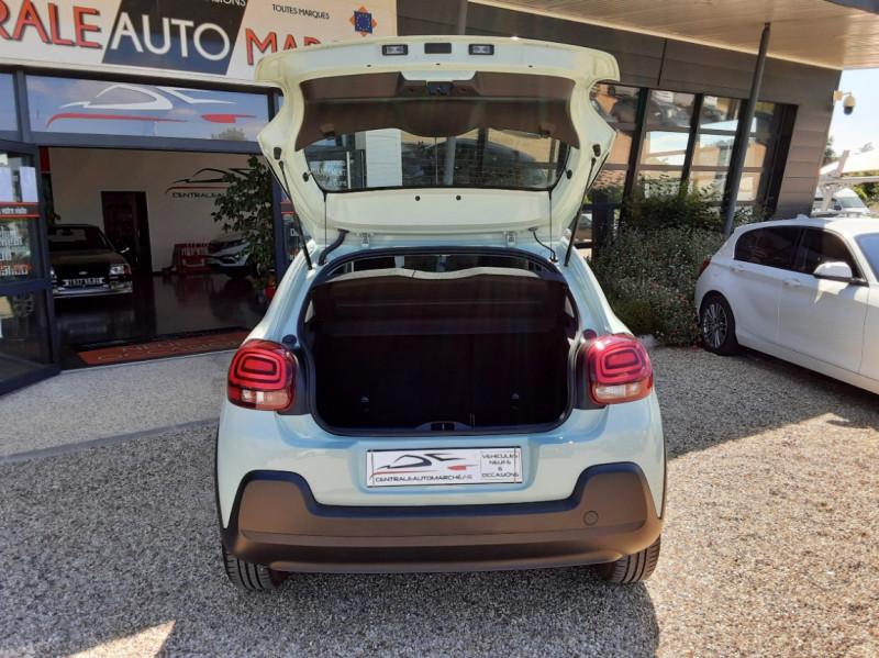 Photo 17 de l'offre de CITROEN C3 PureTech 82 Feel à 10990€ chez Centrale Auto Marché Mussidan