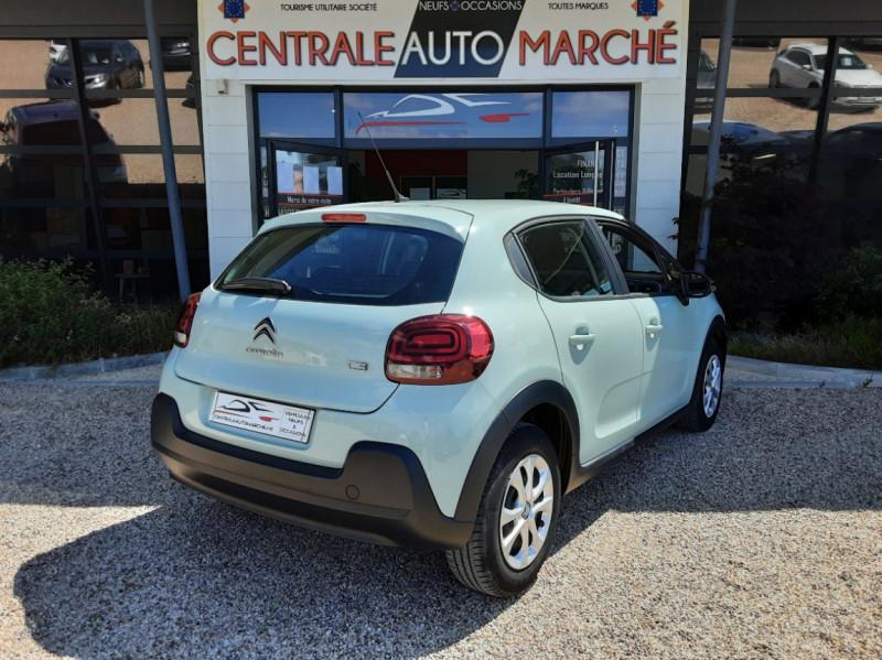 Photo 9 de l'offre de CITROEN C3 PureTech 82 Feel à 10990€ chez Centrale Auto Marché Mussidan