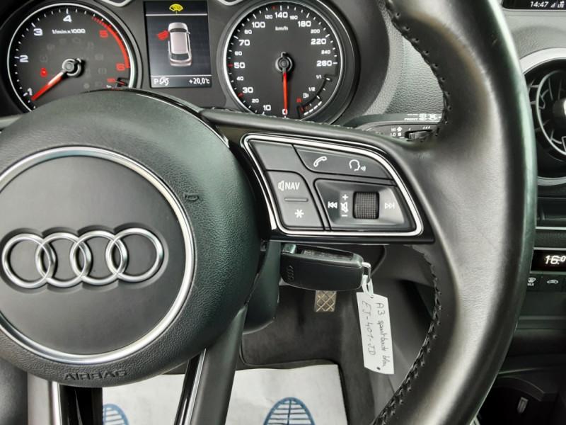 Photo 42 de l'offre de AUDI A3 Sportback 2.0 TDI 150 S tronic 6 Business line à 20990€ chez Centrale Auto Marché Mussidan