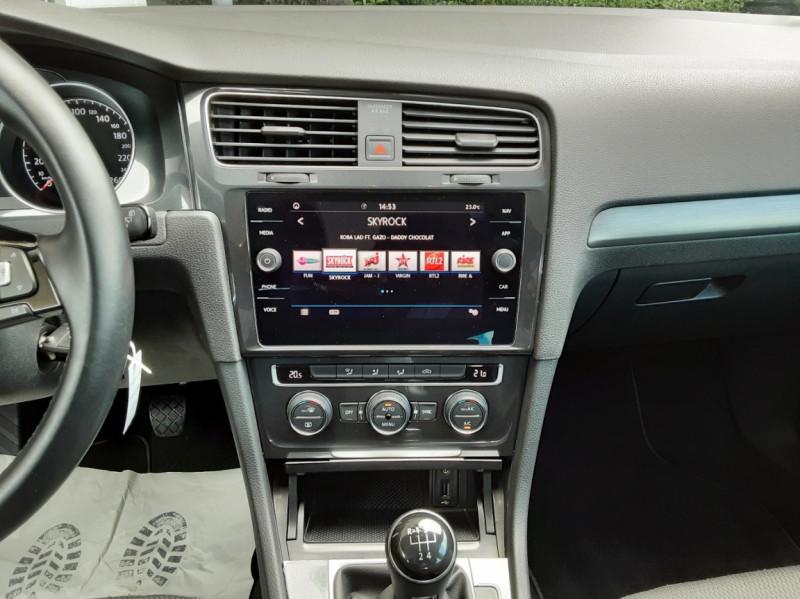 Photo 37 de l'offre de VOLKSWAGEN GOLF 7  TDI 115 BMT FAP Confortline Business à 17800€ chez Centrale Auto Marché Mussidan