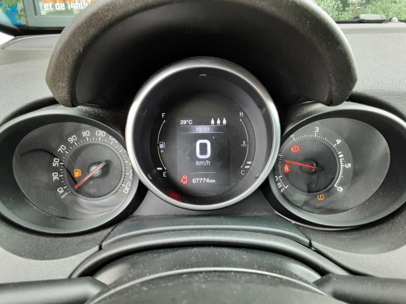 Photo 14 de l'offre de FIAT 500X 1.6 MultiJet 120 ch S-Design à 15490€ chez Centrale Auto Marché Mussidan