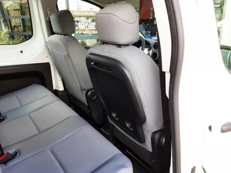 Photo 15 de l'offre de PEUGEOT PARTNER CABINE APPROFONDIE L2 1.6 HDI 90CH BVM5  à 13990€ chez Centrale Auto Marché Mussidan