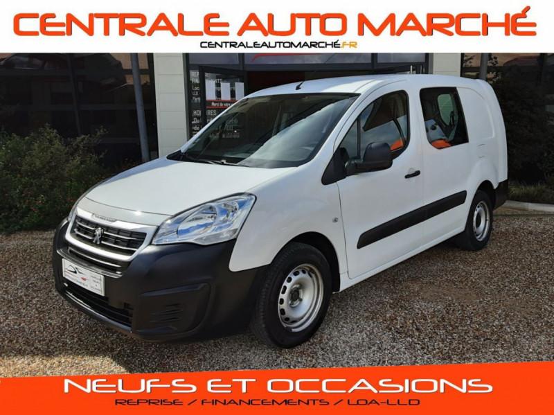 Peugeot PARTNER CABINE APPROFONDIE L2 1.6 HDI 90CH BVM5  Diesel  Occasion à vendre